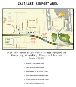 SC16 - Airport Map