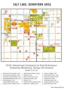 SC16 - Downtown Map