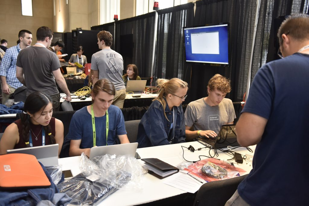 Focus, concentration and determination are hallmarks of the SC conference Student Cluster Competition, which will mark its tenth year at SC16 in Salt Lake City.