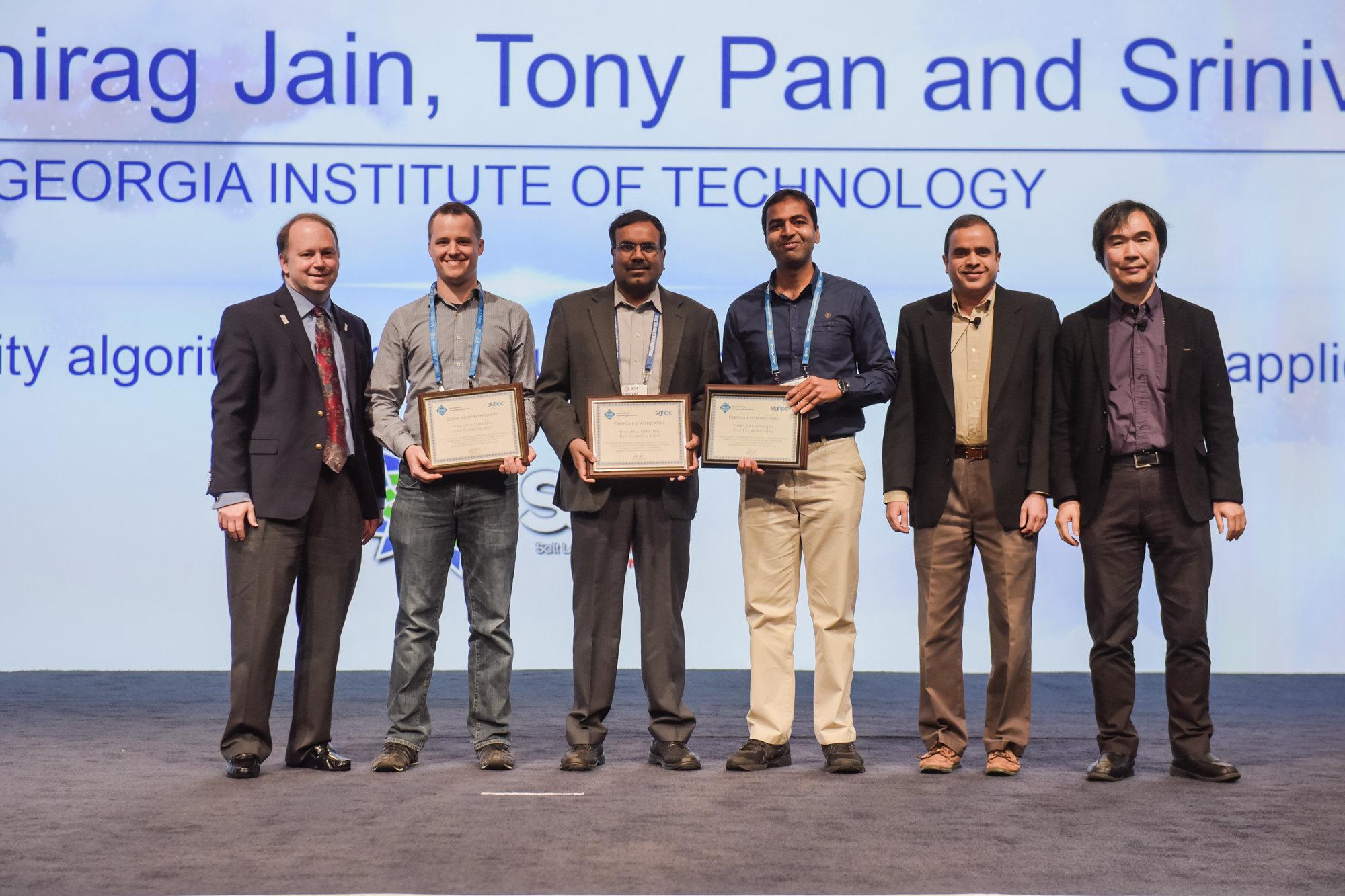 ACM SIGHPC Certificate of Appreciation - SC16
